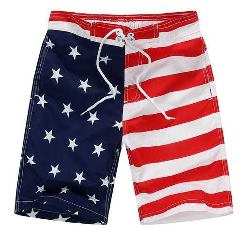 Fast Dry Boys Striped Shorts For 4Y-11Y