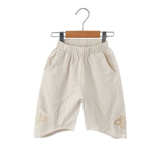 Solid Color Boys Shorts For 2Y-11Y
