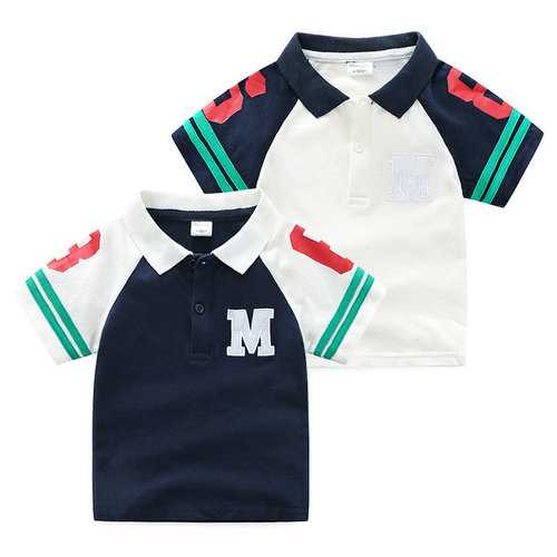 Boys Cotton Polo Shirts For 3Y-11Y