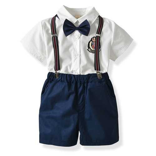 4Pcs Formal Boys Clothing Sets