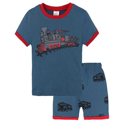 2Pcs Printed Boys Clothes Set