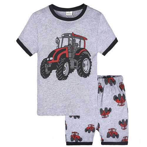 2Pcs Graphic Boys Clothing Set For 1Y-9Y