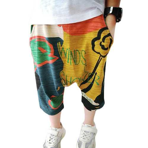 Colorful Boys Lantern Shorts For 2Y-9Y