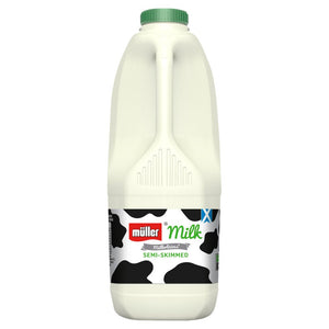 Milk x 2ltr - Semi Skimmed ONLY £1.25