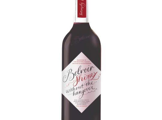 Belvoir - Wine Without the Hangover - Non-Alcoholic Shiraz - 750ml