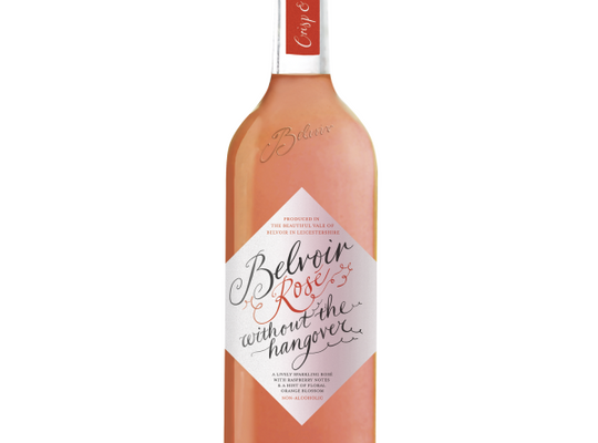 Belvoir - Wine without the Hangover - Non-Alcoholic Sparkling Rose - 750ml