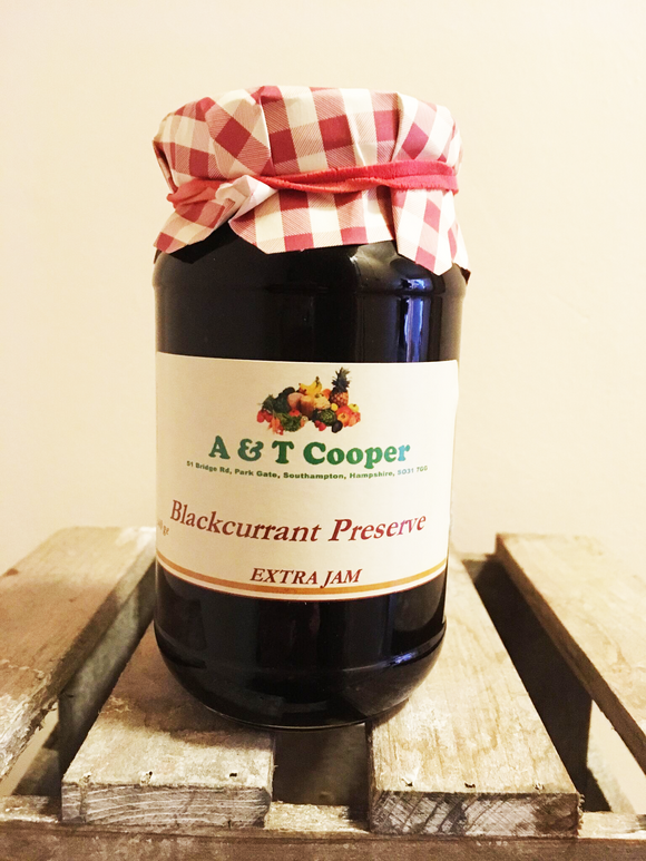 Blackcurrant Preserve