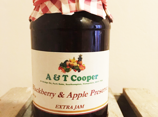 Blackberry & Apple Preserve