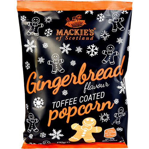 Mackie's - Gingerbread Popcorn x 170g.