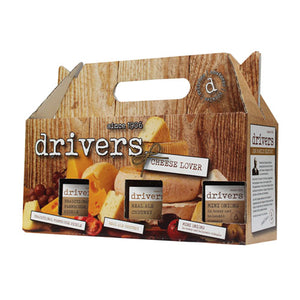 Hamper - Drivers, Cheese Lovers Box.