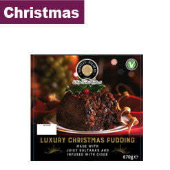 Christmas Pudding - Huntley & Palmers Luxury 670g