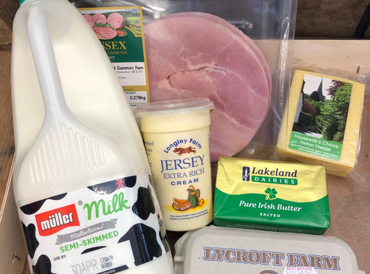 DAIRY BOX - A selection of our most popular Dairy products.