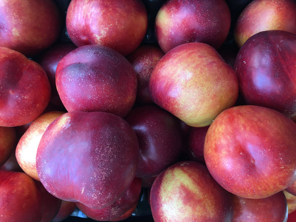 Nectarines - 35p each, 3 for £1.00