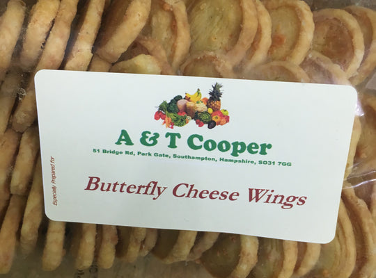 Butterfly Cheese Wings