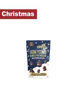 Chocolate - Mighty Fine Honeycomb, Milk Chocolate Snowman x 100g