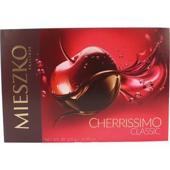 Chocolate, Cherrissimo Liqueur Cherries Gift Box 310gm