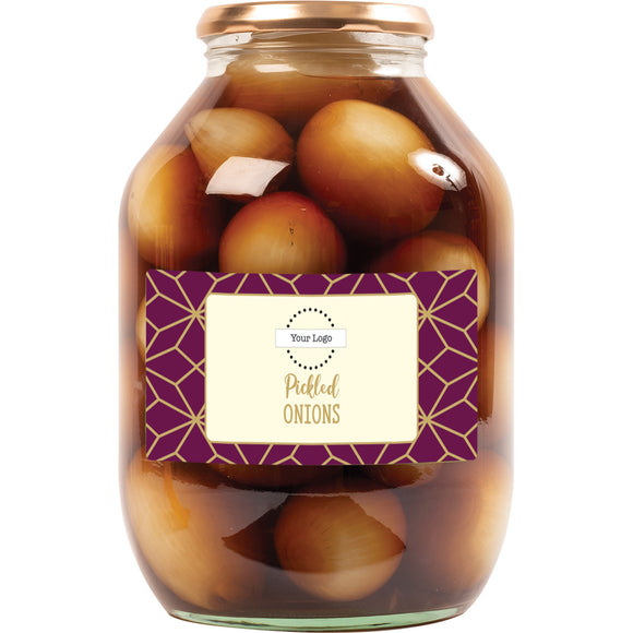 Personalised, A & T COOPER - Pickled Onions, XLarge x  2.25kg.