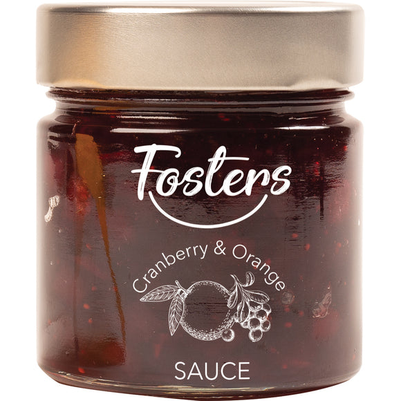 Fosters - Cranberry with Orange Sauce x 270g.