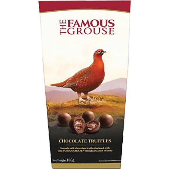 Chocolate - Famous Grouse, Truffle Box x 135g