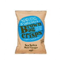 Crisps - Gluten Free x 150g - Sea Salt & Malt Vinegar.