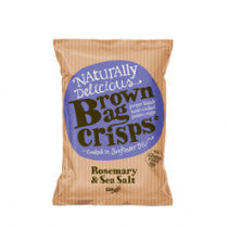 Crisps - Gluten Free   Rosemary & Sea Salt  150g