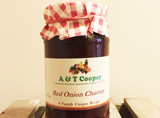 Red Onion Chutney 312g