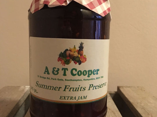 Summer Fruits Preserve – 340g