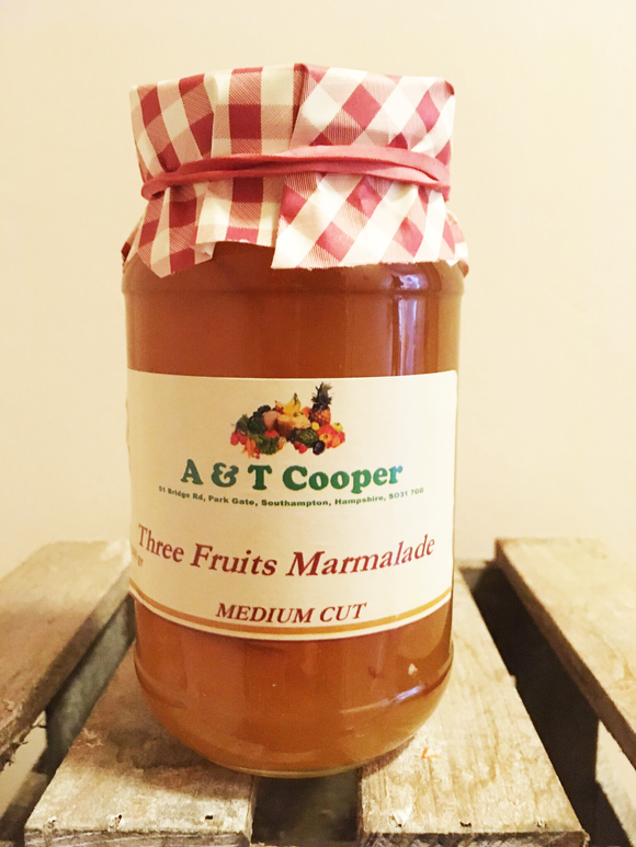 Three Fruits Marmalade 340g
