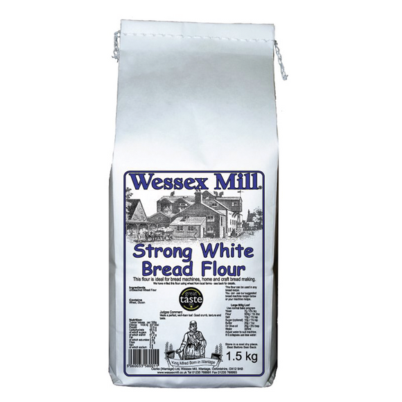 Flour - Wessex Mill, Strong White Bread - 1.5kg