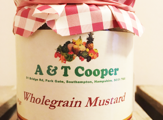 Wholegrain Mustard 160g
