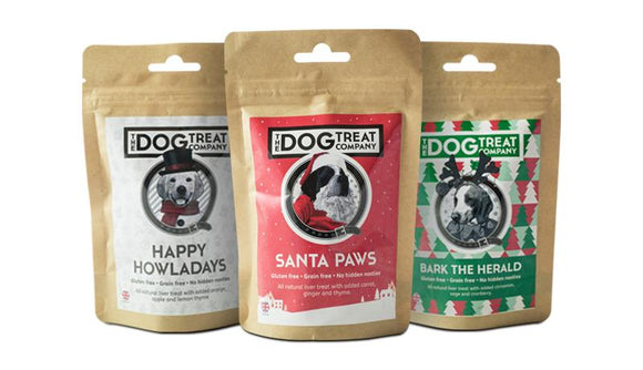 CHRISTMAS, Dog Treats - 3 x 60g