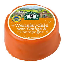 Cheese - Wensleydale, Orange & Champagne x 200gm