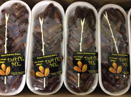 Dates - x 200g pkt - 55p each 2 = £1.00