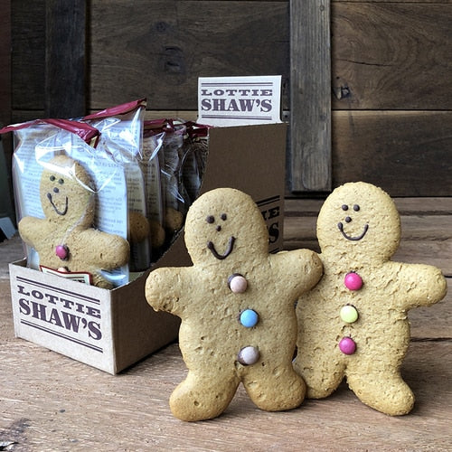 Cake - Lottie Shaw's, Vegan Gingerbread Man x 50g.