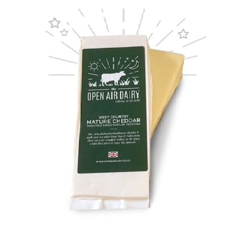 Cheese - Open Air Dairy West Country Mature Chedder 400g