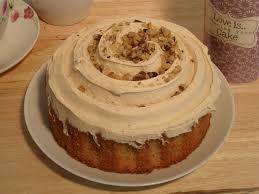 Ruby's - Coffee & Walnut Sponge Cake