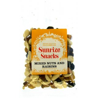 Mixed Nuts and Raisins - 140g