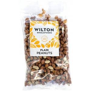 Nuts - Peanuts Plain x 400g.