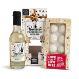 CHRISTMAS, Pawsecco - Woof Brew Pawsecco Luxury Pack with White Chocolate Stars x 250ml