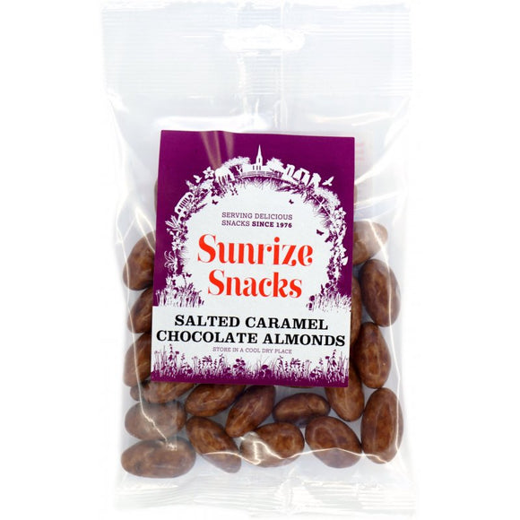 Salted Caramel Chocolate Almonds x 100g