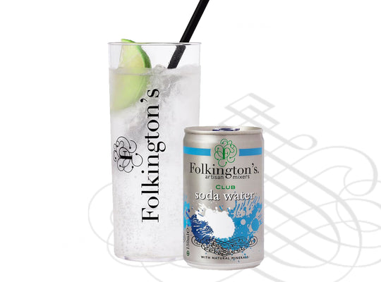 Folkington's - Club Soda Water - 8 x 150ml