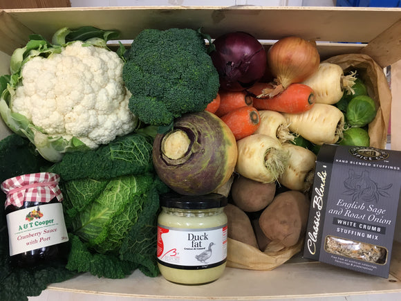 A & T - Christmas Vegetable Box with Stuffing