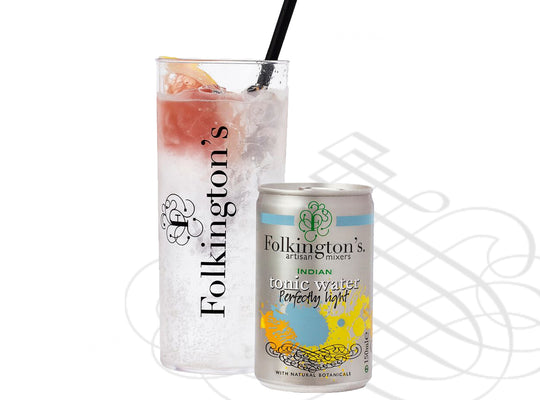 Folkington's - Indian Tonic Water PERFECTLY LIGHT - 8 x 150ml