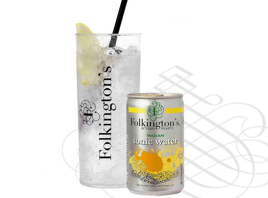 Folkington's - Indian Tonic Water - 8 x 150ml