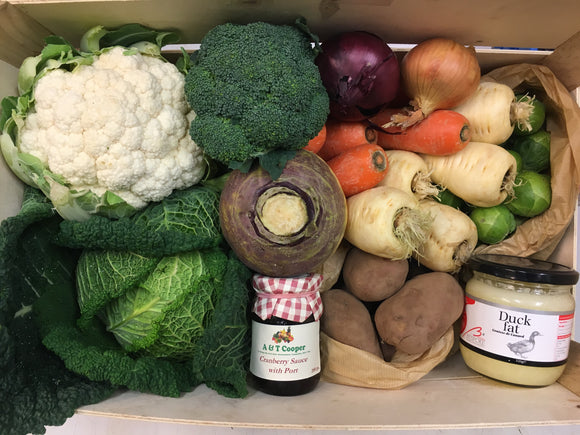 A & T - Christmas Vegetable Box - Large