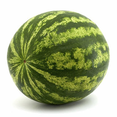 Watermelon - whole, half.