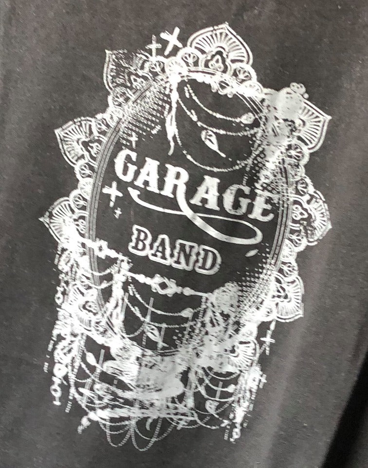 Indigo Babe - Garage Band Tee in Charcoal