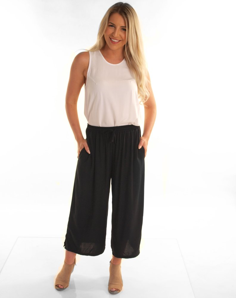 Indigo Babe - Lara Resort Pants in Black