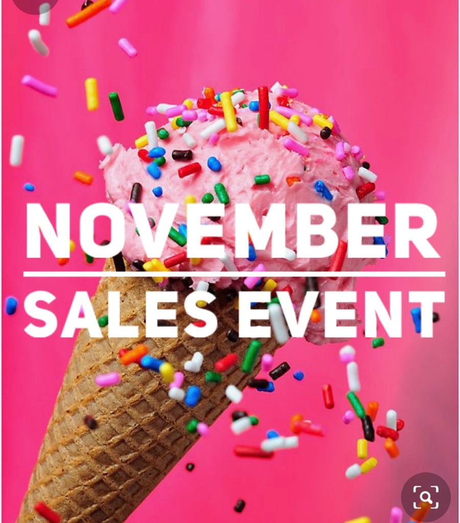 November Sales Event Order for Katie Perrin