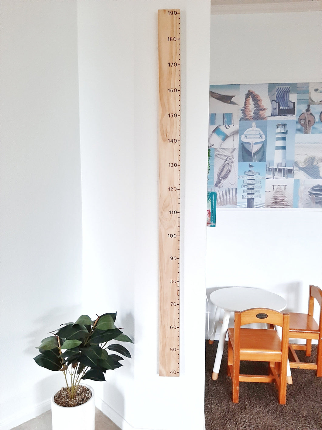 Wooden Height Charts - Plain